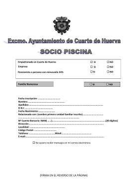 comunicación - Ayuntamiento de María de Huerva