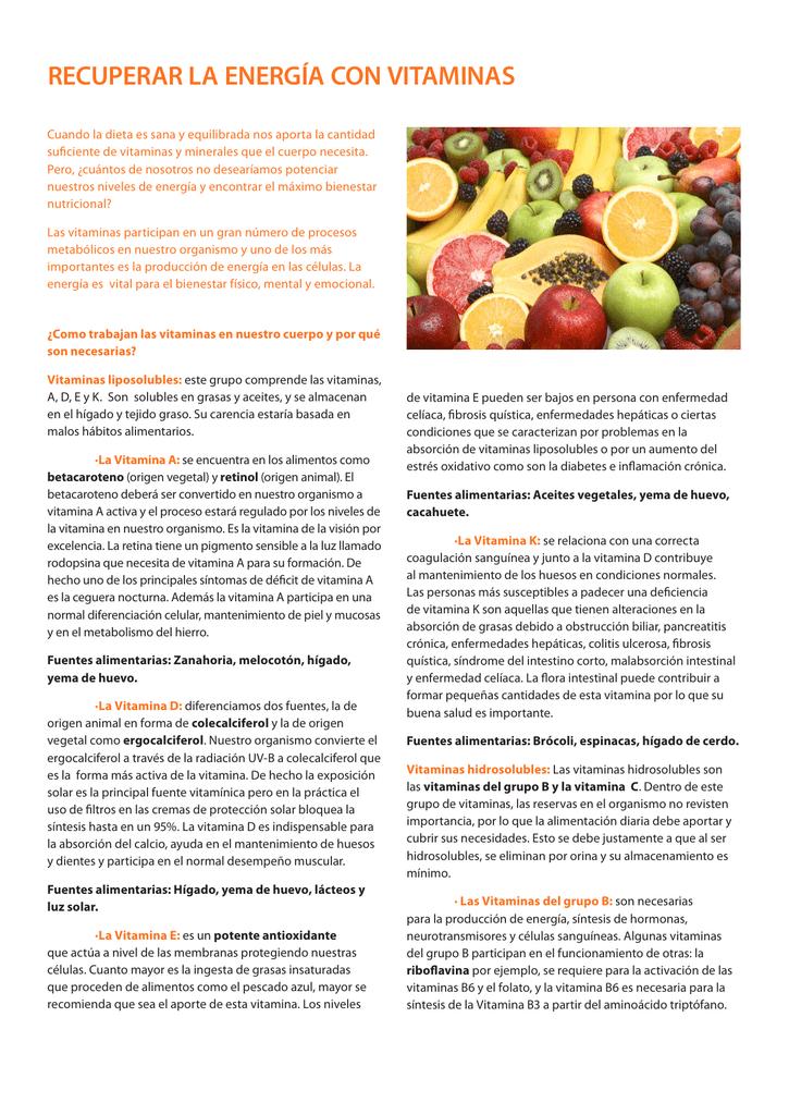 qué son las vitaminas pdf