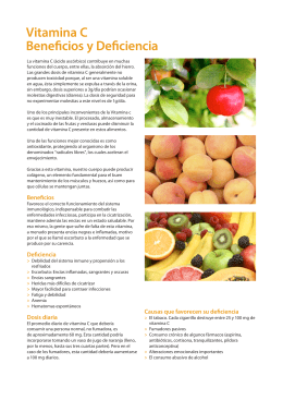 Vitamina C. Beneficios y Deficiencia.pdf