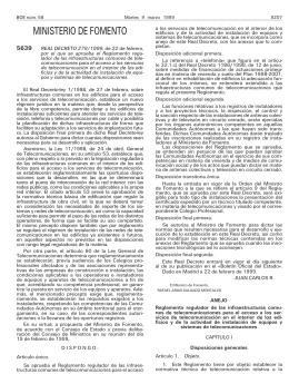 REAL DECRETO 279/1999,