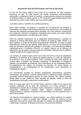 Declaración final – Buenos Aires – 2010