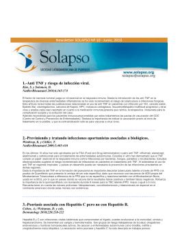 Newsletter Nº10 - Junio 2010