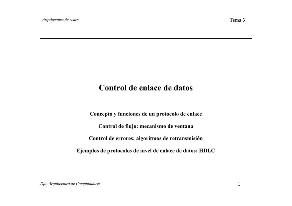 Transparencias en PDF del tema 3