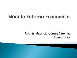 Modulo Gerencia_2015 entorno economico 1-2015MG