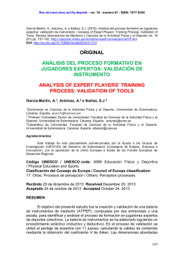 Rev.int.med.cienc.act.fís.deporte - vol. 16 - número 61 - ISSN: 1577-0354