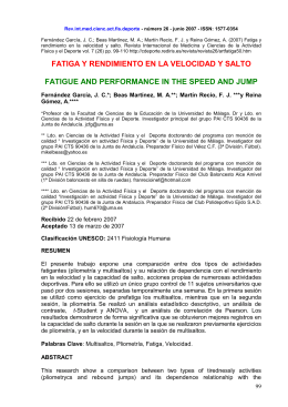 Rev.int.med.cienc.act.fís.deporte - número 26 - junio 2007 - ISSN: 1577-0354