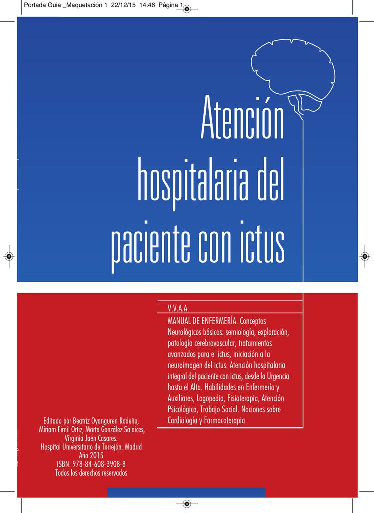 Atención hospitalaria del paciente con ictus