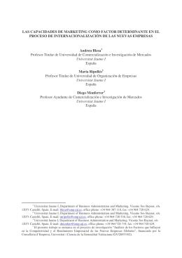 BLESA A., RIPOLLES M., MONFERRER TIRADO D