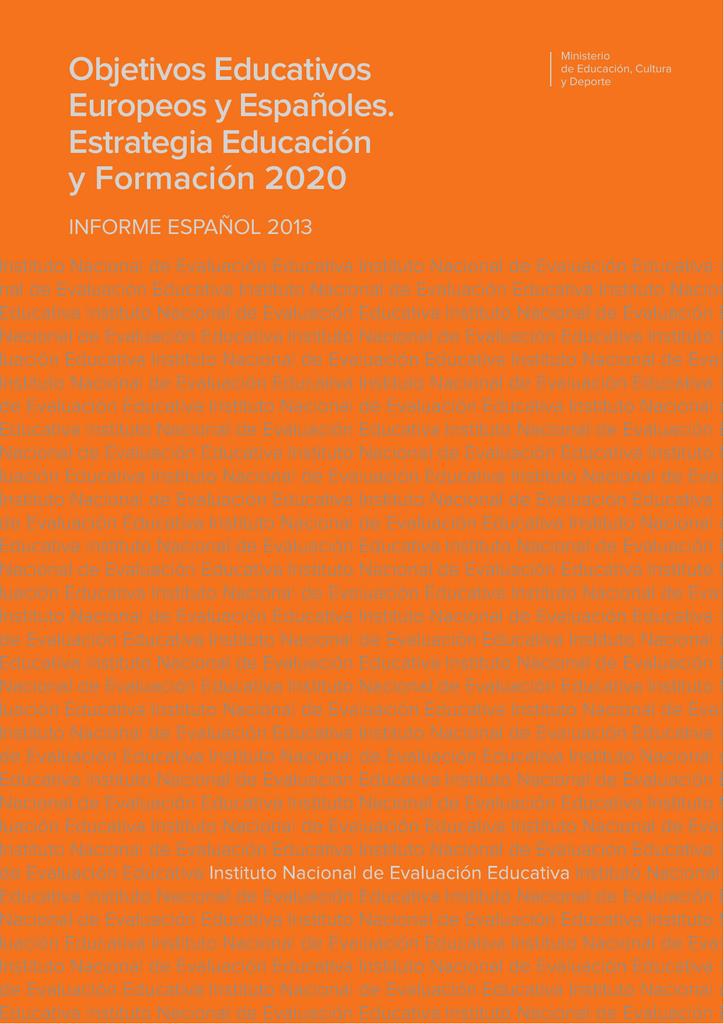 Calendario Escolar 2020 2020 Barcelona.Objetivos Educativos Europeos Y Espa Oles Estrategia Educaci N Y