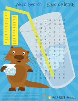 Potter the Otter Activity Sheet