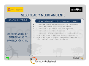 coordinacion de emergencias y proteccion civil