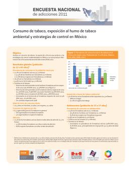 Consumo de tabaco, exposici n al humo de tabaco ambiental y estrategias de control en M xico