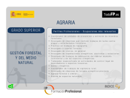 gestion forestal y del medio natural