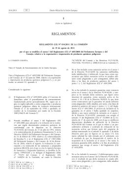 230811 reglamento exp imp produc quimicos peligros