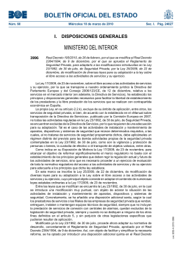 100310 decreto modificaciones Ley Seg privada