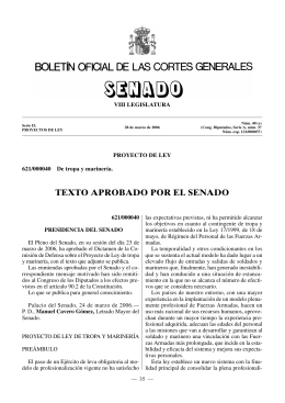 proyecto ley 280306 tropaymarineria