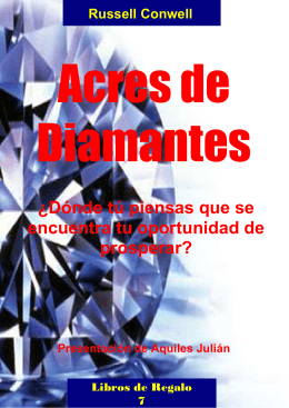 Russell Conwell-ACRES-DE-DIAMANTES