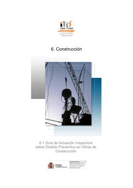Gestión preventiva obras de construcción