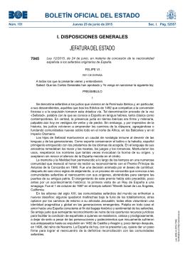 Ley 12/2015, de 24 de junio