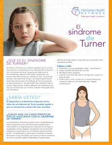Turner síndrome de el