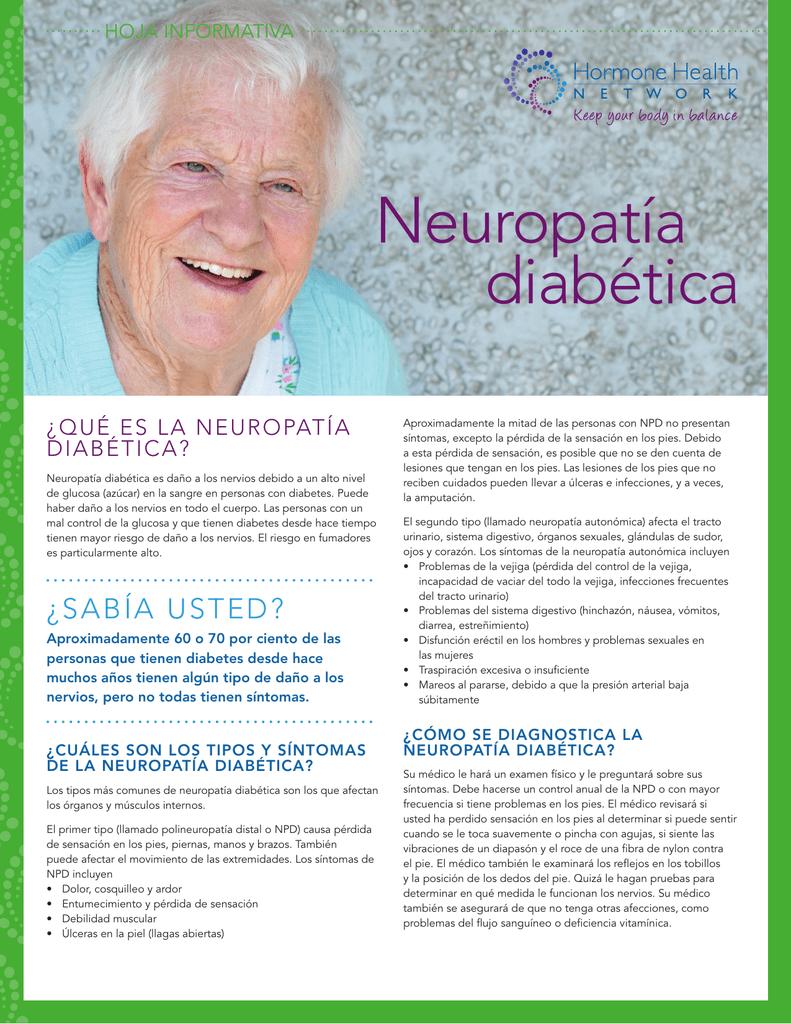 hoja informativa sobre diabetes en español