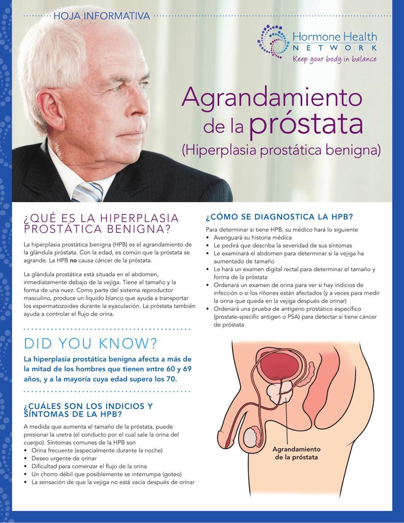 como se trata el agrandamiento de la prostata