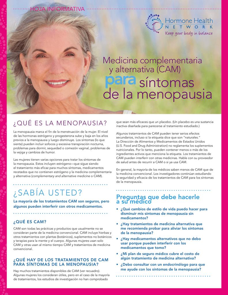 fin de la menstruacion menopausia