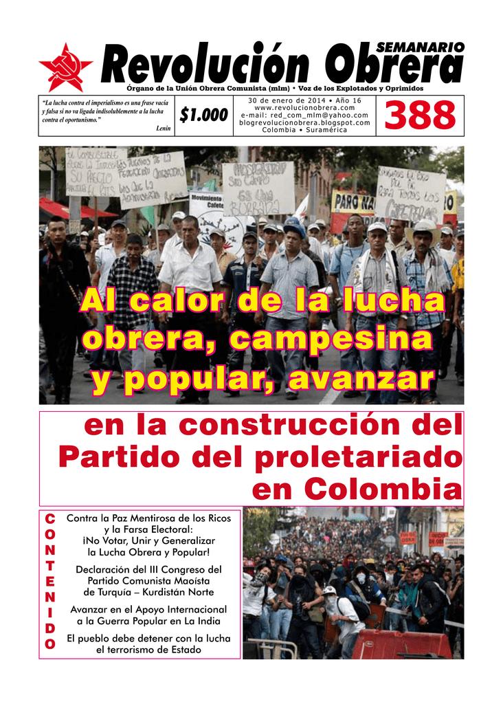 Revolución Obrera 388