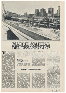 Madrid Capital Desarrollo