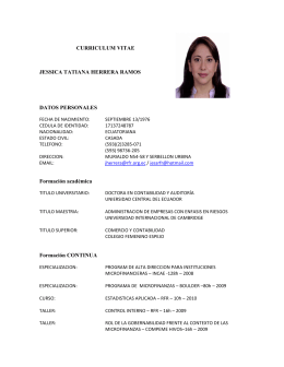 Aracely Castillo Gutierrez Curriculum Vitae