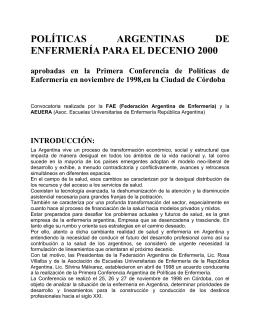 Politicas Decenio2000