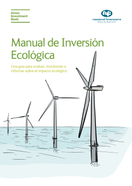 manual inversiones ecologicas
