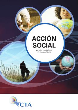 Acción sociAl para los trabajadores de tierra de Iberia