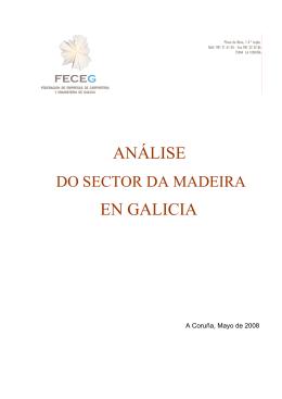 Análise do sector da madeira en Galicia