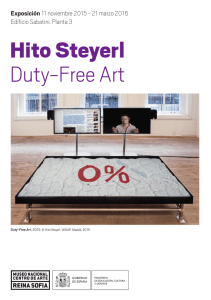 Folleto de Hito Steyerl