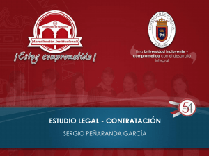 ESTUDIO LEGAL CONTRATACION