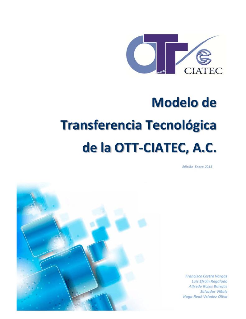 Modelo de Transferencia Tecnológica