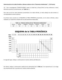 Lnea del tiempo del sistema peridico pregunta no10 1era evaluacin 2010 ii urtaz Choice Image