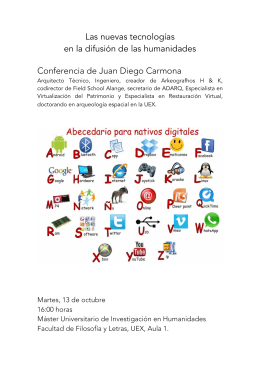 Descargar Documento: Cartel conferencia Juan Diego Carmona