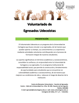 Voluntariado de Egresados Udeceistas (3530 Downloads)