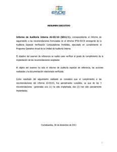Informe de Auditoria AI-03-10 (SD11-1)