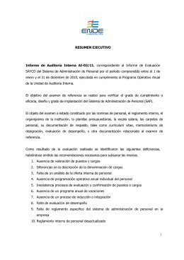 Informe de Auditoria Interna AI-03-11
