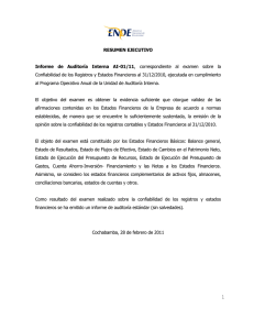 Informe Auditoria Interna AI-01-11