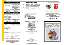 Folleto Programa Licenciatura en Pedagogía Infantil a Distancia (2606 Downloads)