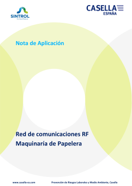 RF Network Maquinaria Papelera