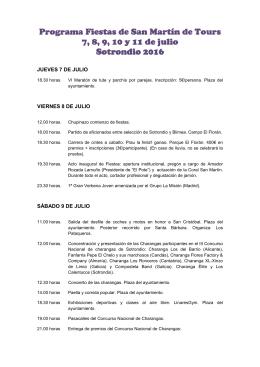 Programa de Fiestas de Sotrondio 2016.