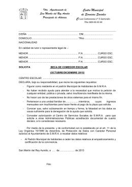 MODELO SOLICITUD DE BECA COMEDOR ESCOLAR.doc