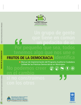 http://www.auditoriaciudadana. com.ar/sitio/documentos_ interes/Frutos-de-la- Democracia.pdf