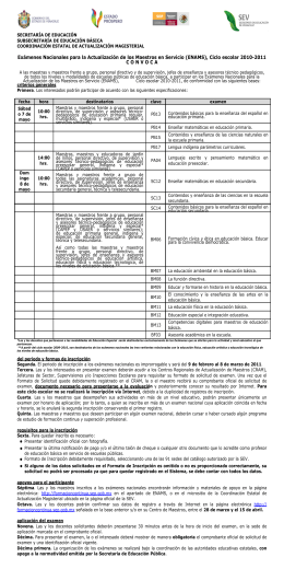 CONVOCATORIAESTATAL ENAMS2011.doc