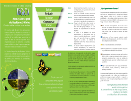 Integrated Management of Wastes Pamphlet